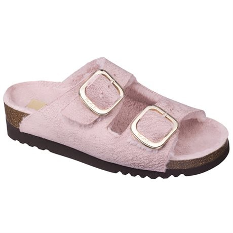 Scholl Sandal Dam Ilary Fluffy Pink