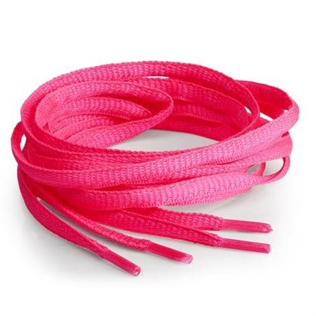 Springyard Skosnören Oval Neon Pink
