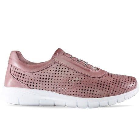 Charlotte Sneaker Shine DK Rose