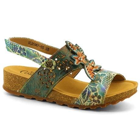 Soft Comfort Sandal Mira Turquoise