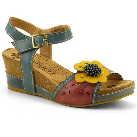 Soft Comfort Sandal Shake Blue