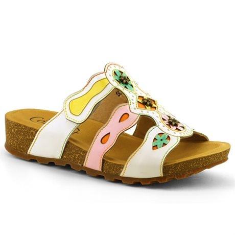 Soft Comfort Sandal Zena White
