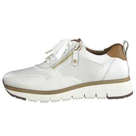 Tamaris Sneaker Low White Cognac