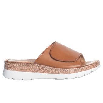 Sandaler i läder hos Minfot.se