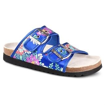 sandaler med bred läst
