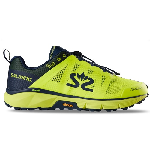 Salming Skor Trail 6 Men Safety Yellow Navy