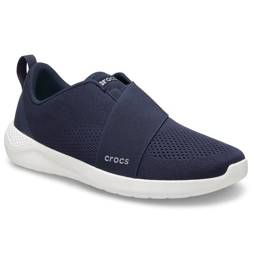 Crocs LiteRide Modform Slip On Navy White hos Minfot.se