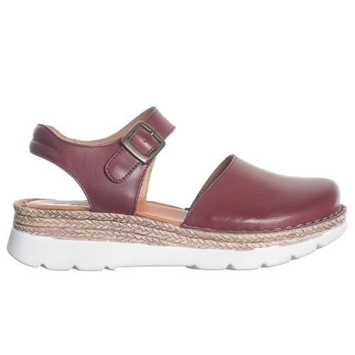 sandaler med hel tå dam