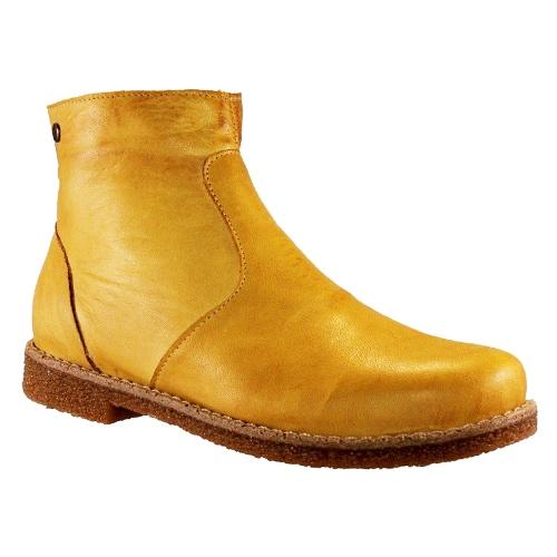 Charlotte Boots Zipper Carmine Curry