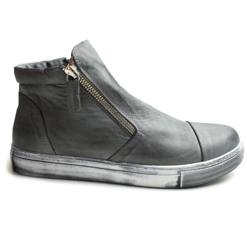 ... anthracit-zip-boots-charlotte-of-sweden-gra-skor. ... cab58d3ae42cd